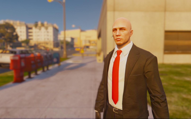 Hitman Agent 47 Skin Gta5 Mods Com