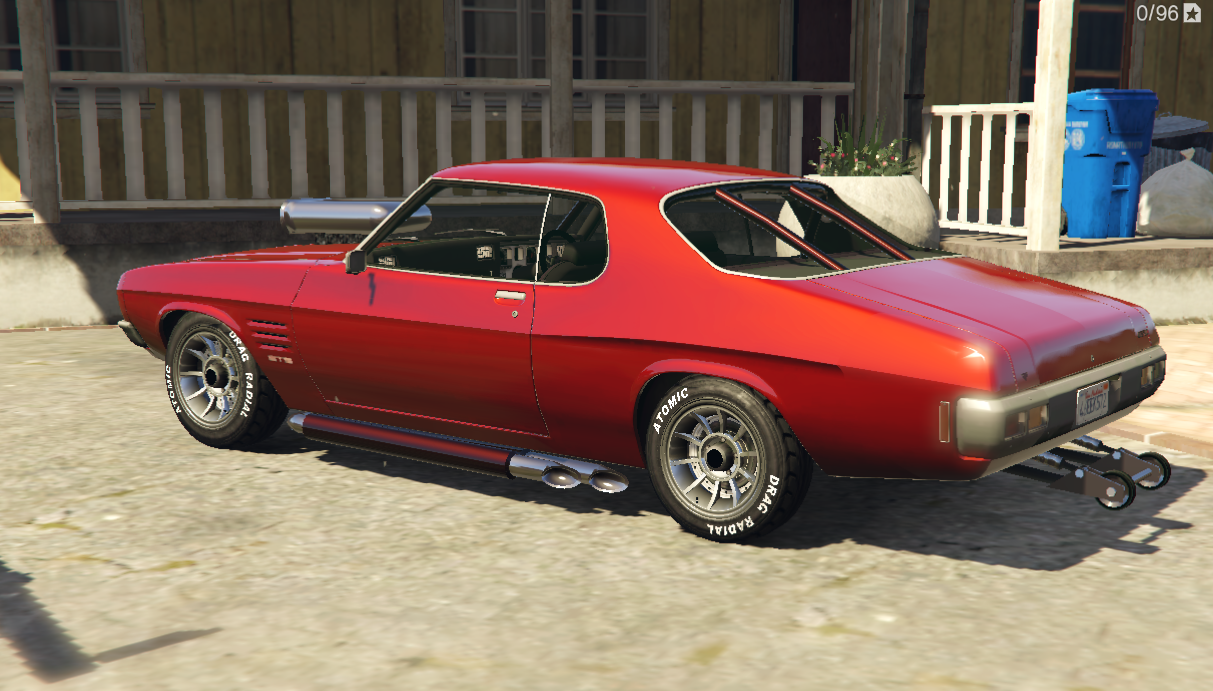 Holden Hq Gts Monaro Rhd Add On Replace Gta5 Mods Com