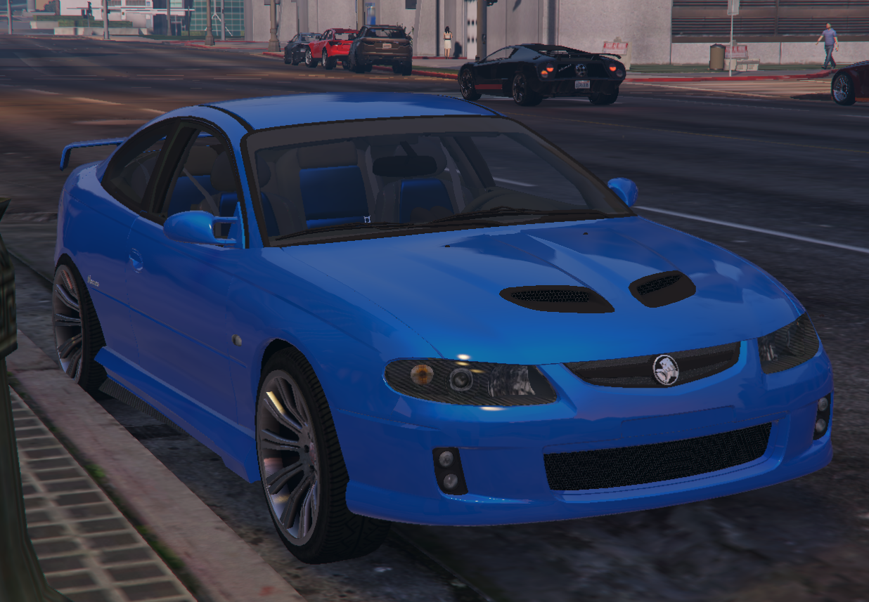 Holden Monaro CV8-R 2005 [Add-On / Replace] - GTA5-Mods.com