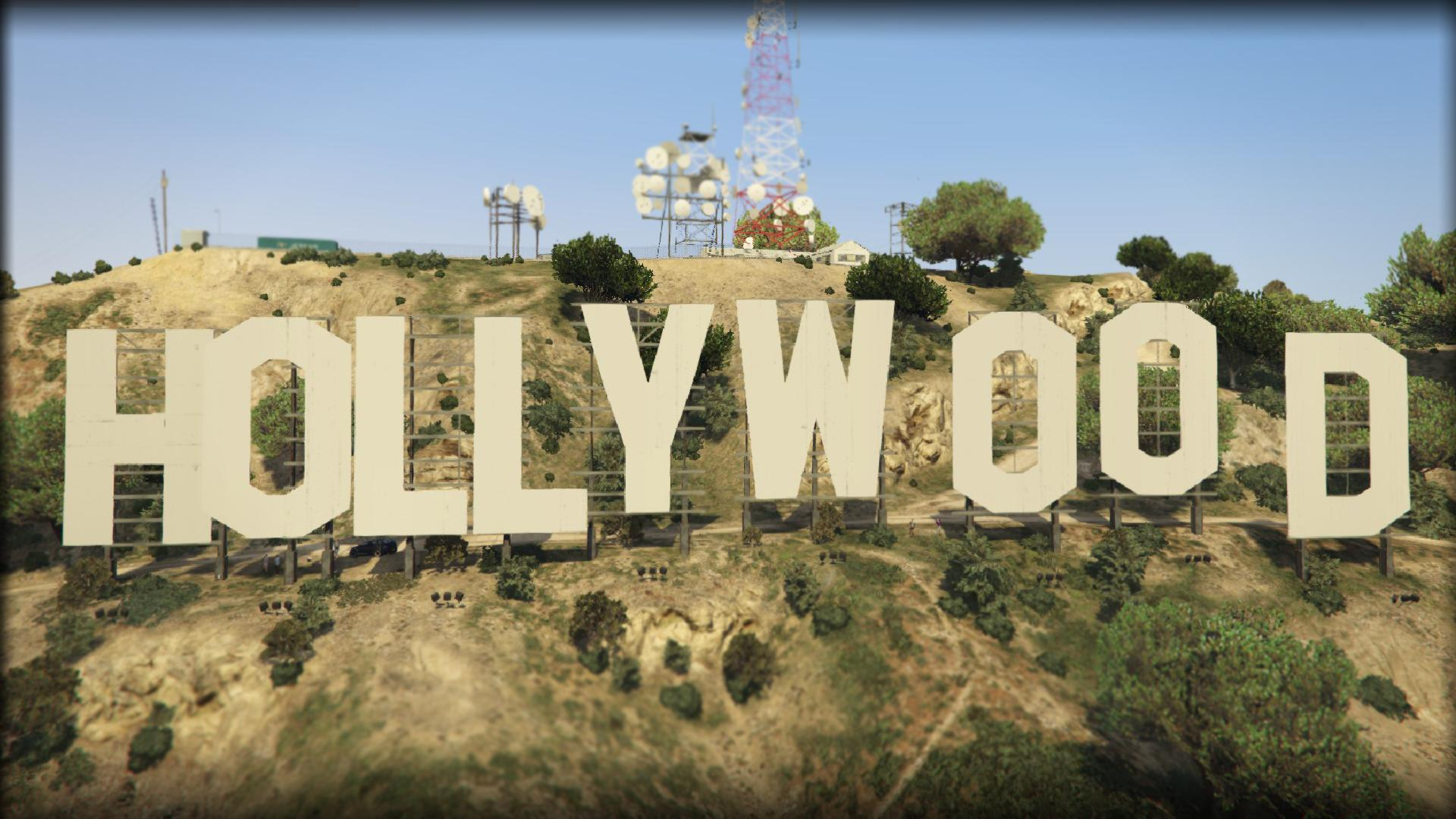 Hollywood Sign - GTA5-Mods.com