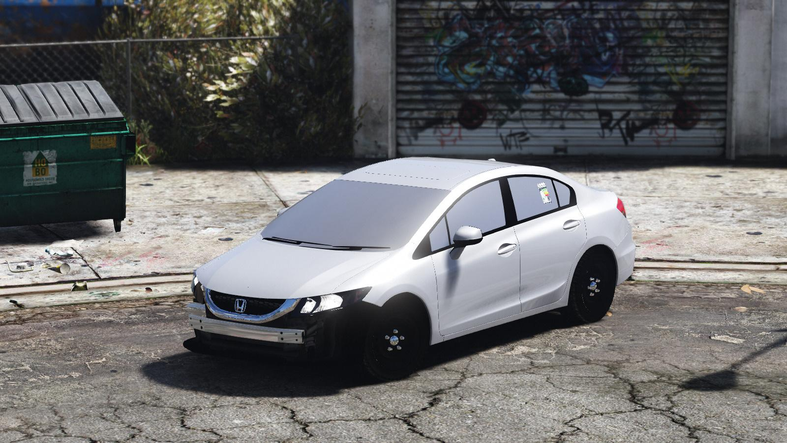 honda civic  gta modscom