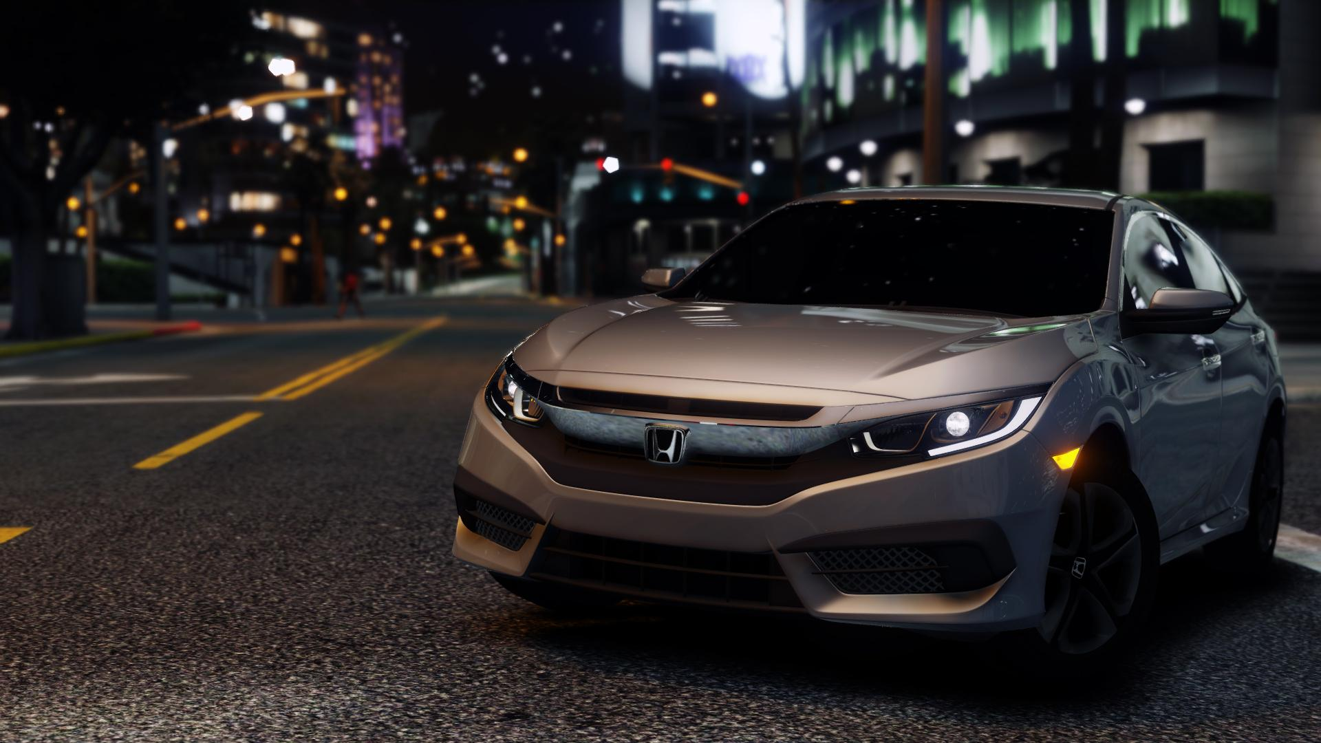 2017 Honda Civic LX Sedan - GTA5-Mods.com