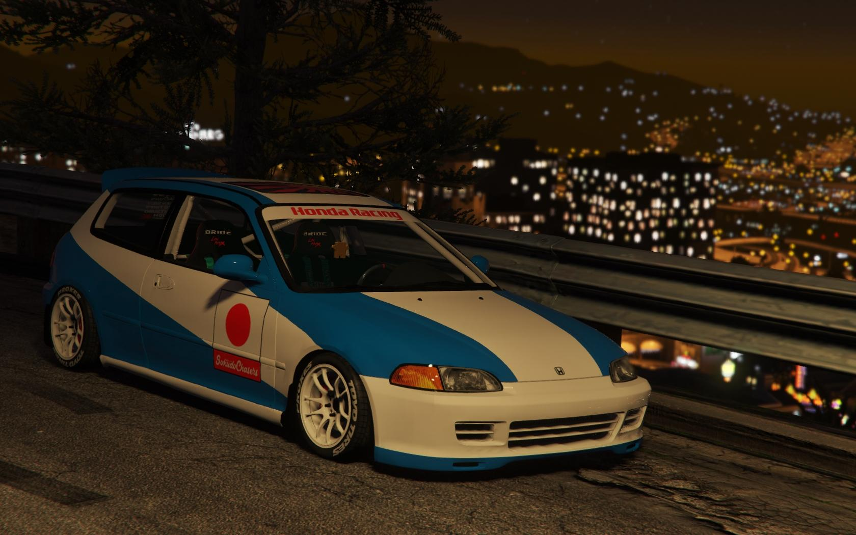 honda civic eg6 kanjo edition tuning template gta5. Black Bedroom Furniture Sets. Home Design Ideas