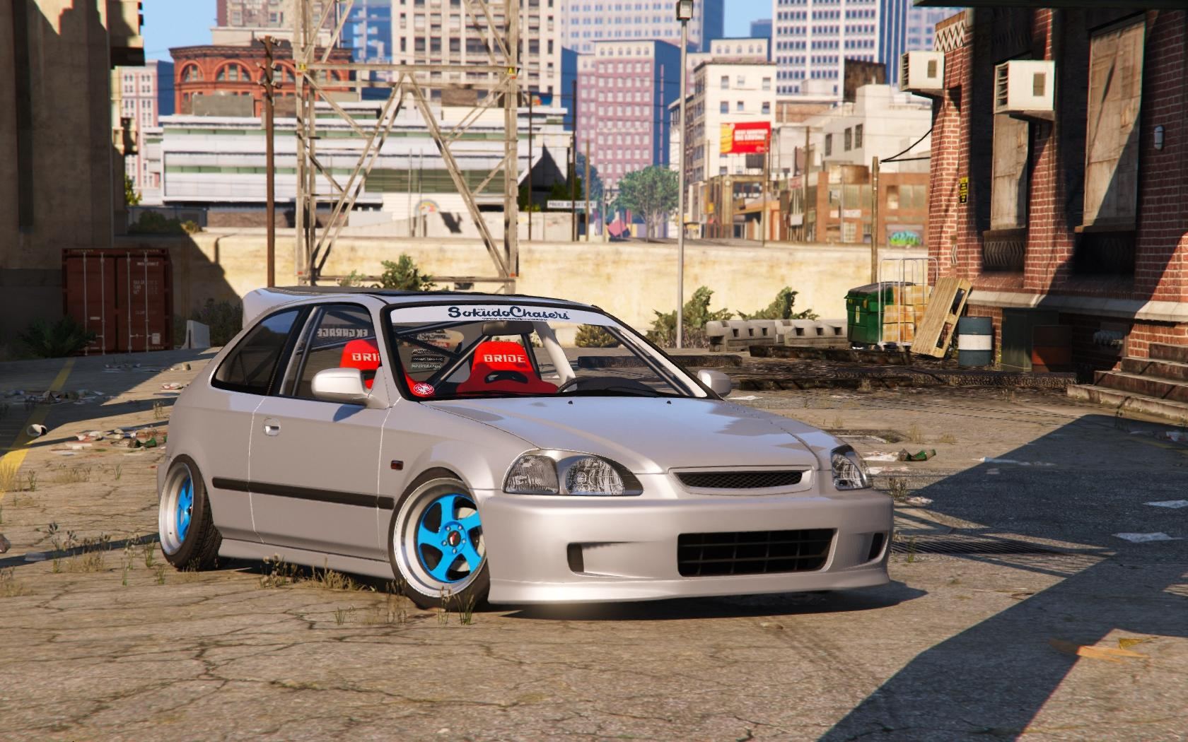 Honda Civic Ek9 Stance Tuning Template Gta5 Mods Com