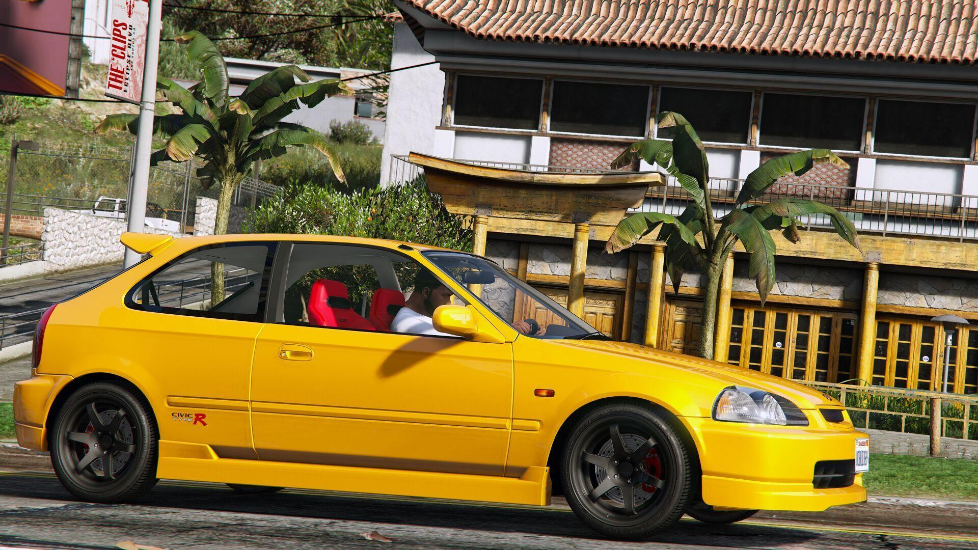 honda civic type r ek9 gta5. Black Bedroom Furniture Sets. Home Design Ideas