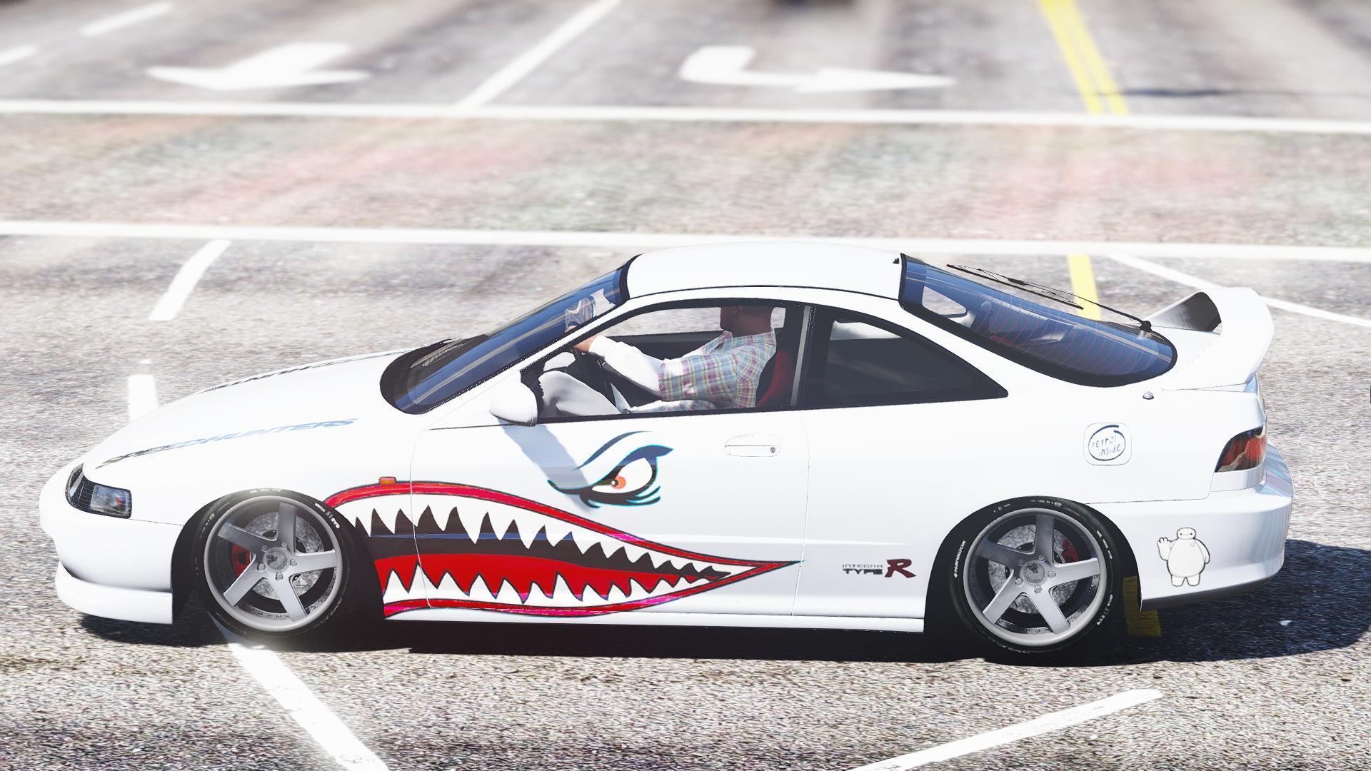 A Gta on Custom Acura Integra Type R