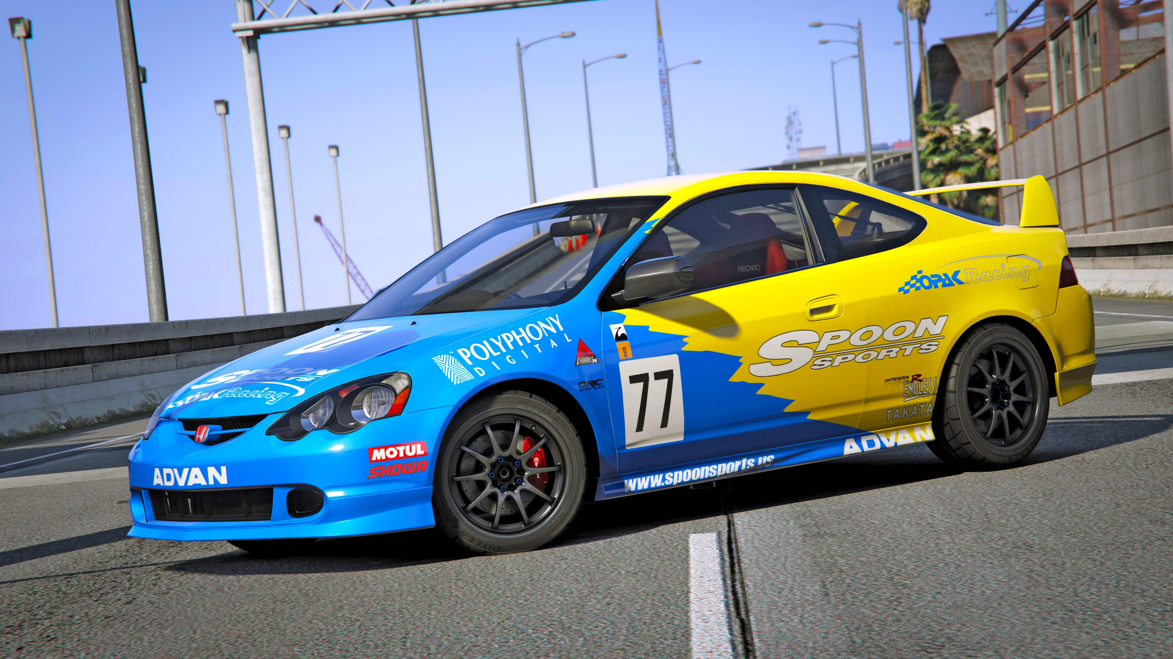 honda integra type r dc5 spoon miku gta5. Black Bedroom Furniture Sets. Home Design Ideas