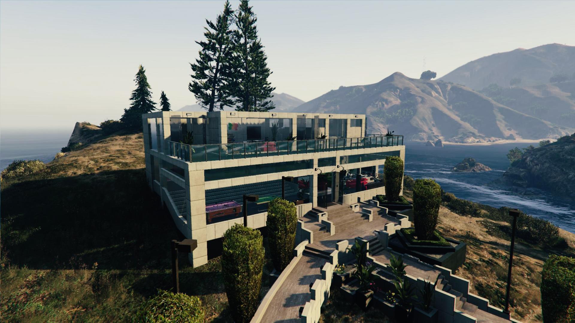 Create House Floor Plans Online Huge Villa 2 Ultra Detailed Gta5 Mods Com