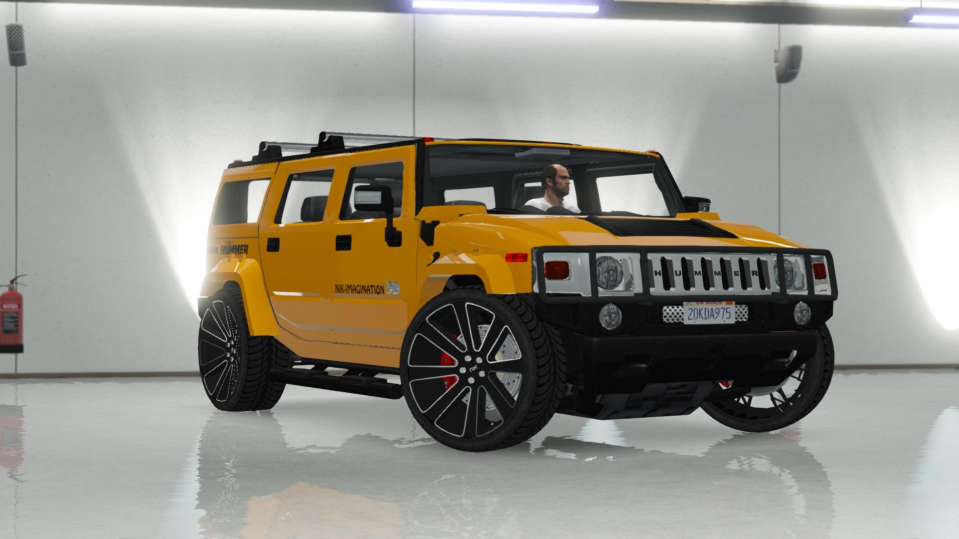 Hummer H2 Modified Nik Add On Replace Gta5 Mods Com