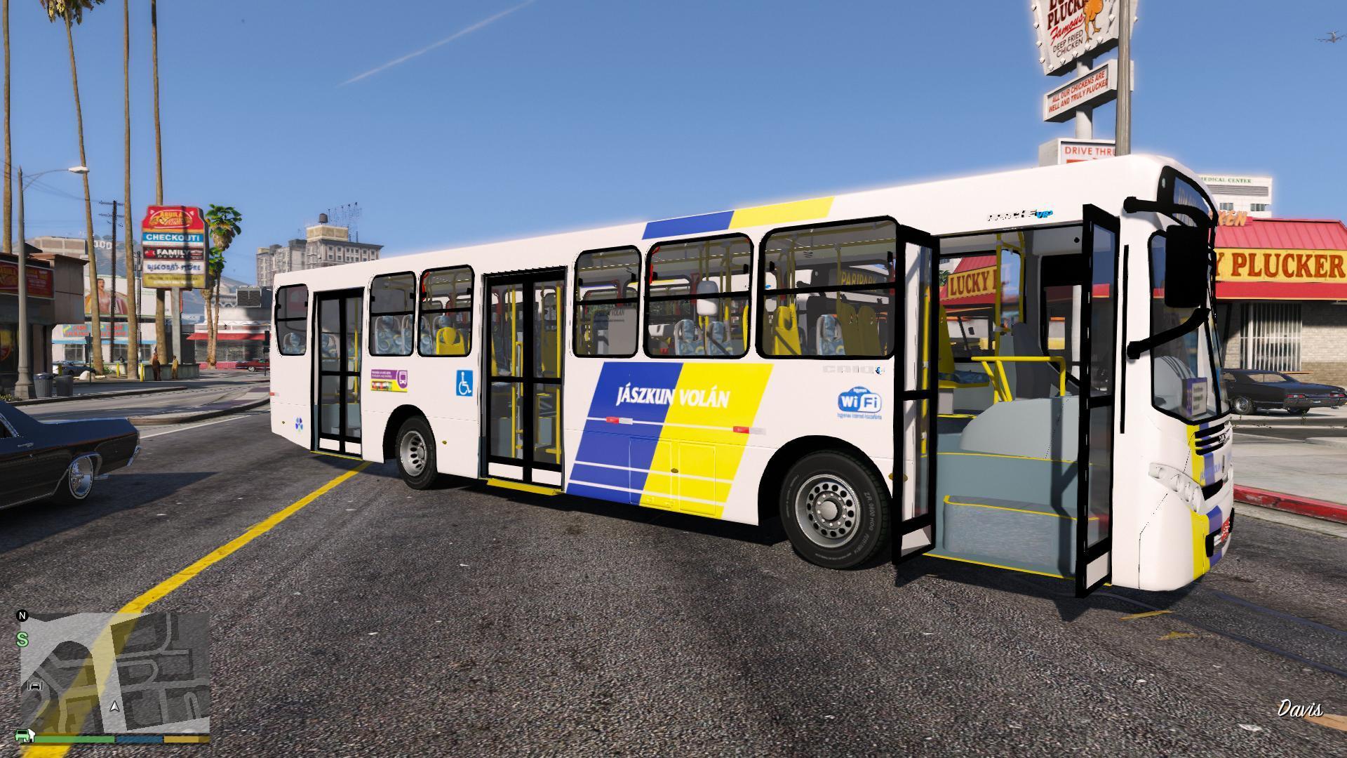Hungarian Bus Skin - GTA5-Mods.com