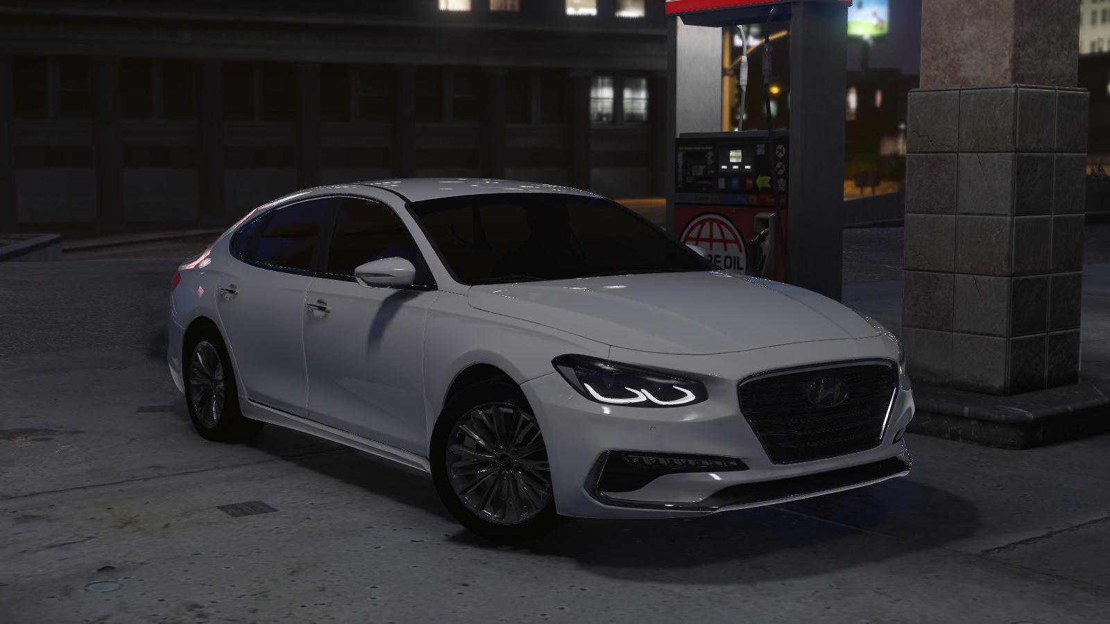 Hyundai Azera 2018 Gta5 Mods Com