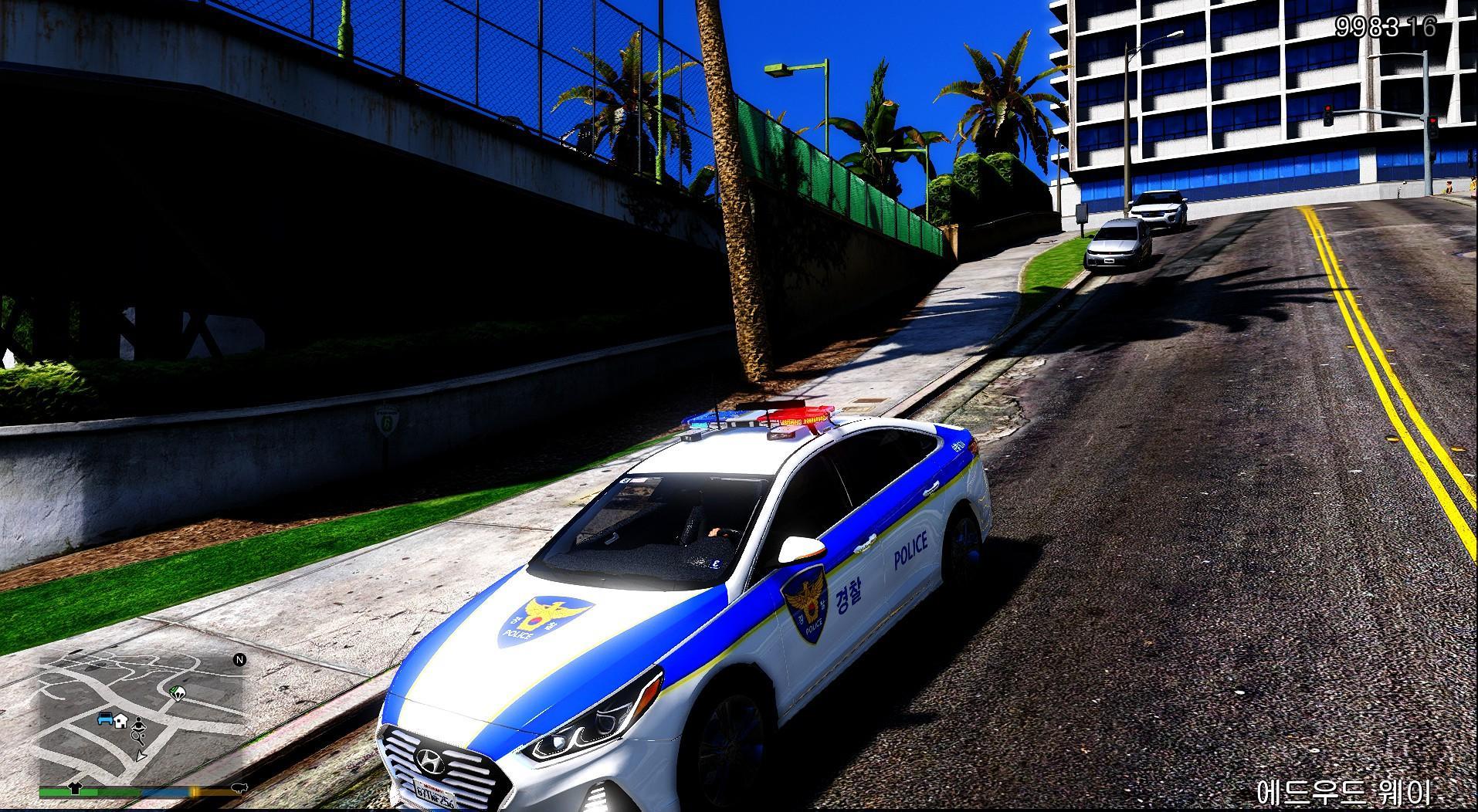 Hyundai Sonata Police Car >> HYUNDAI SONATA-SOUTH KOREA POLICE/현대 소나타 뉴라이즈 경찰 - GTA5-Mods.com