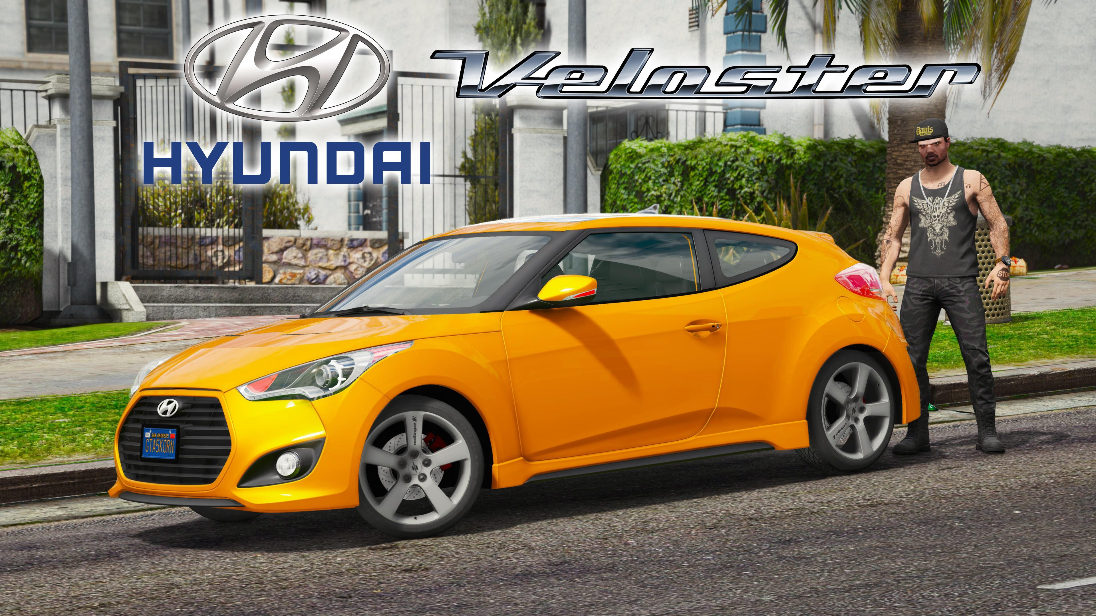 Hyundai Veloster Turbo Autovista Livery Add On