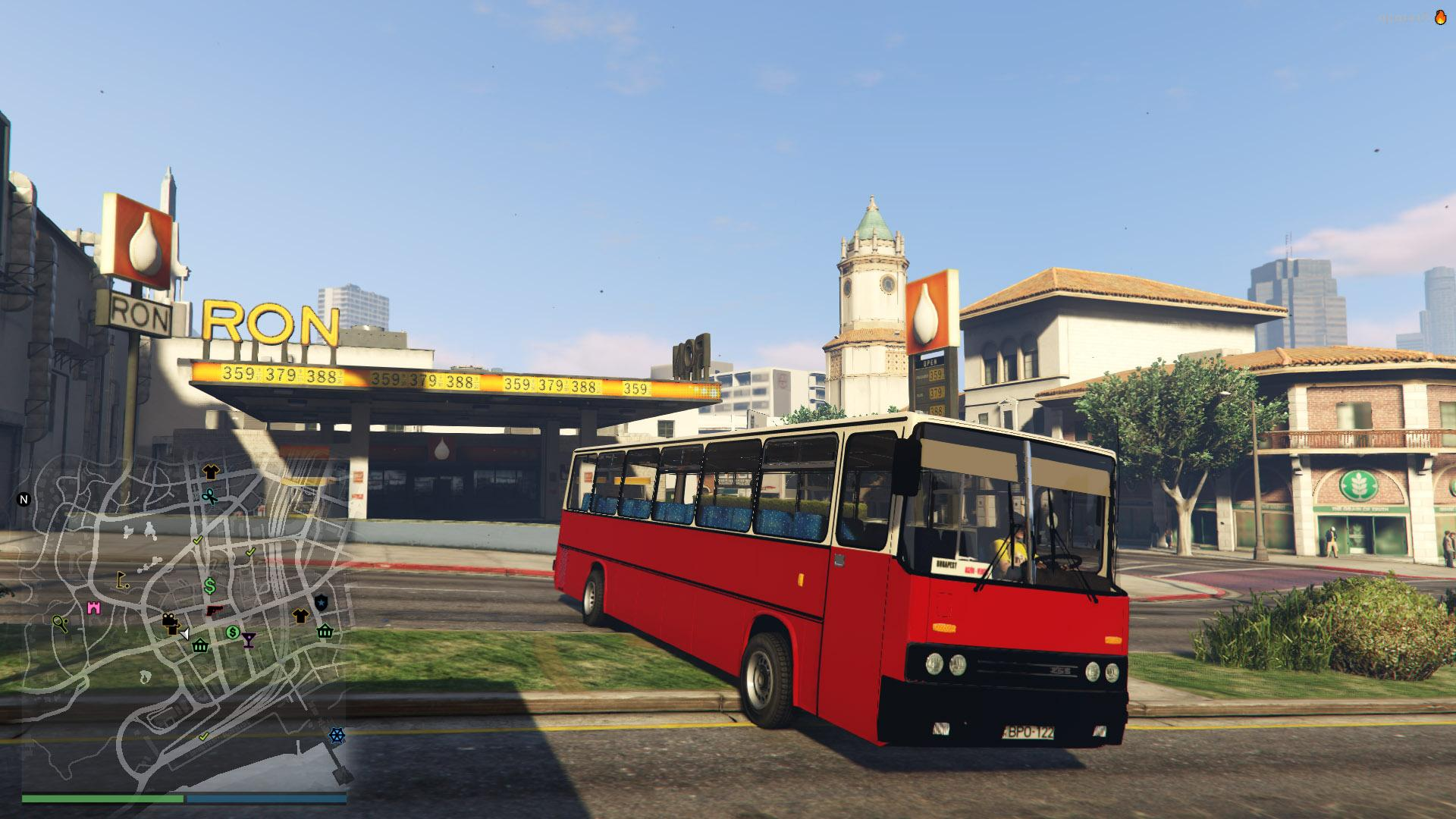 Ikarus 255 gta5 for Ikarus