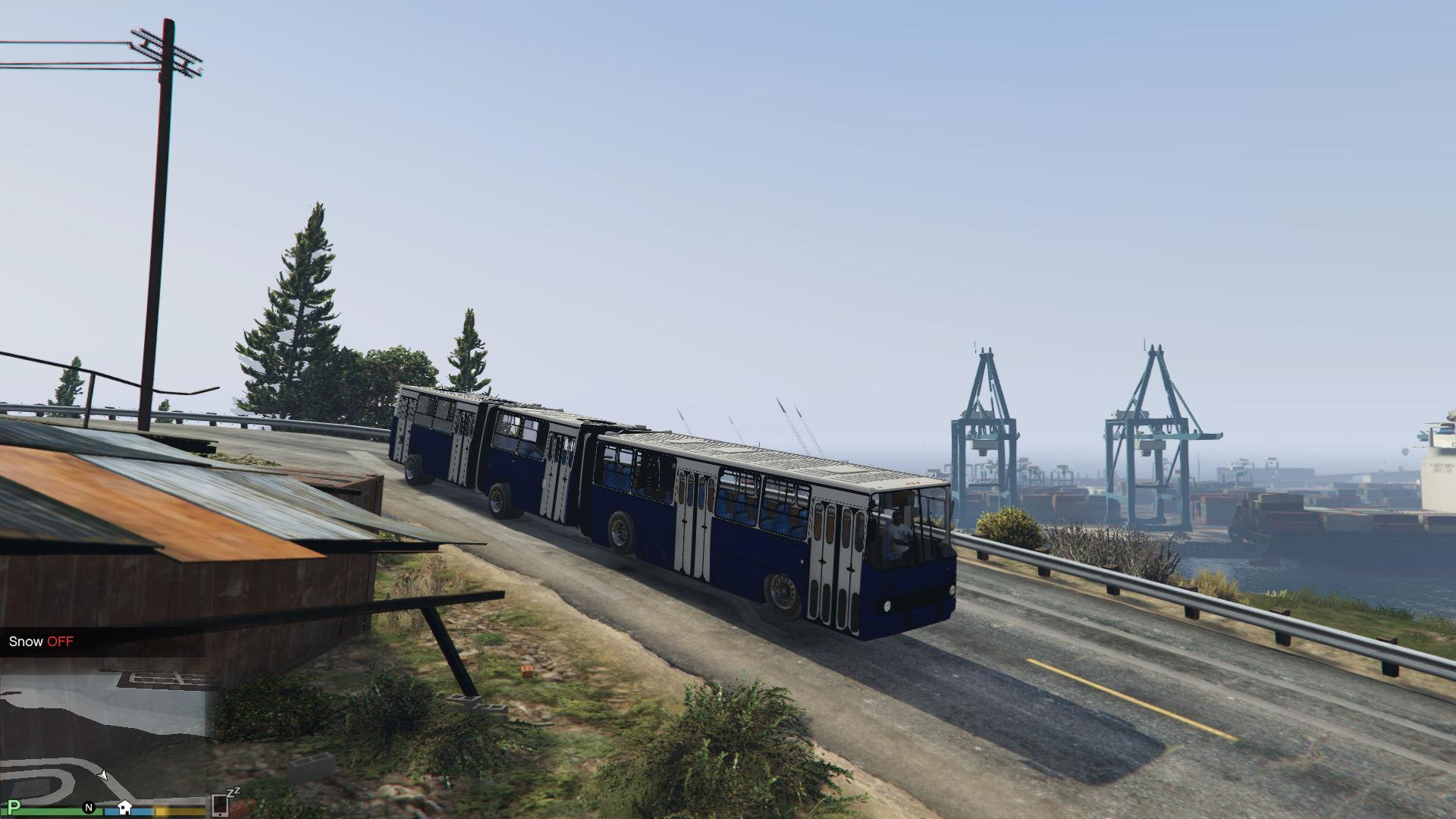 Ikarus 293 bkv gta5 for Ikarus