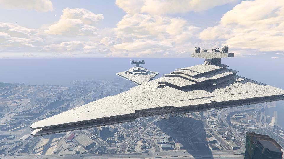Imperial Star Destroyer Blimp BETA - GTA5-Mods com