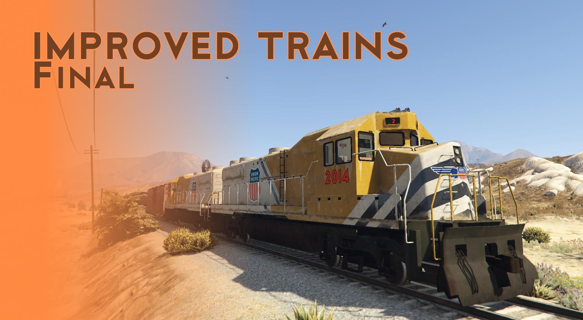 Improved Trains - GTA5-Mods com