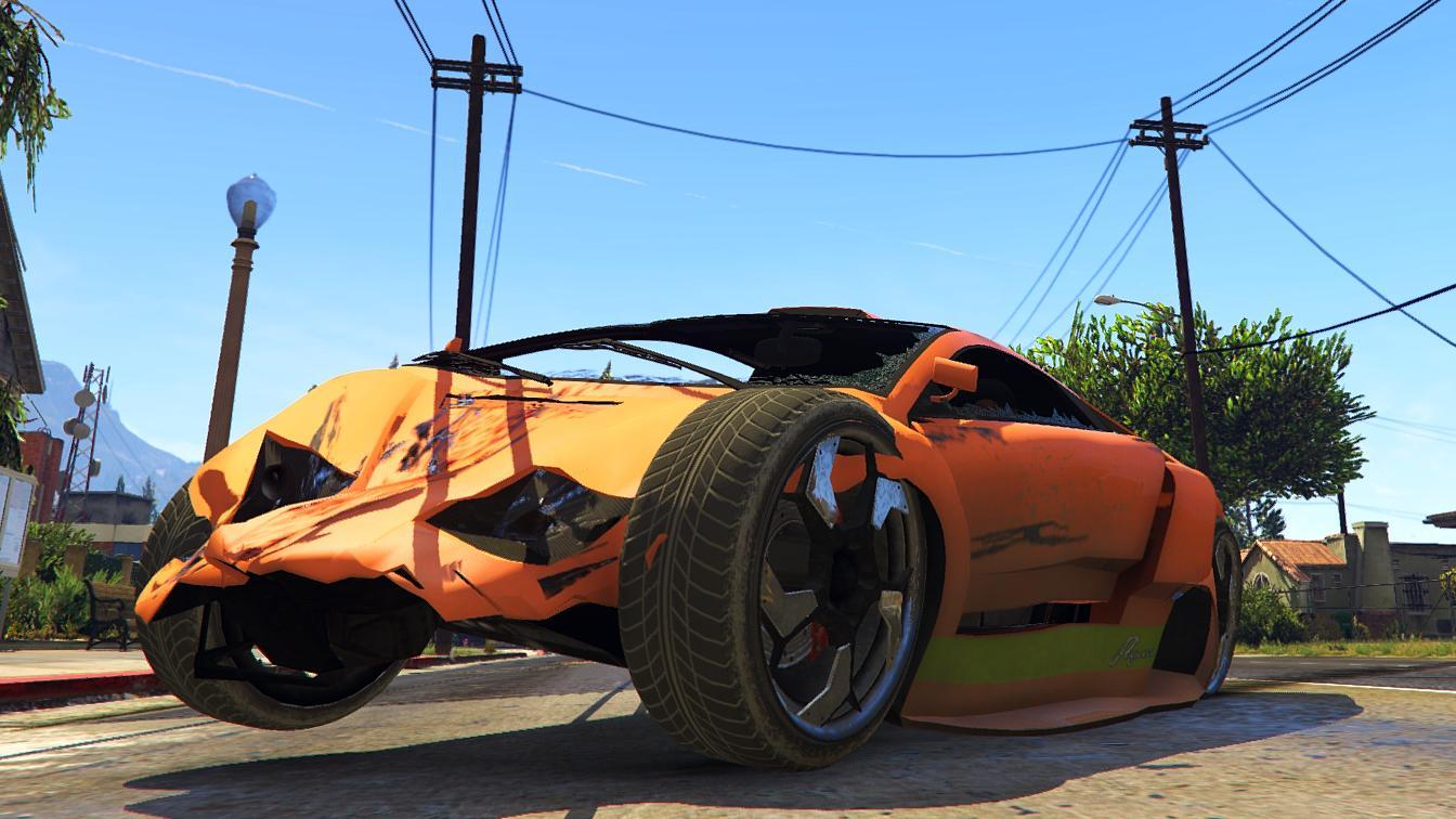 Gta V Car Pack Crash