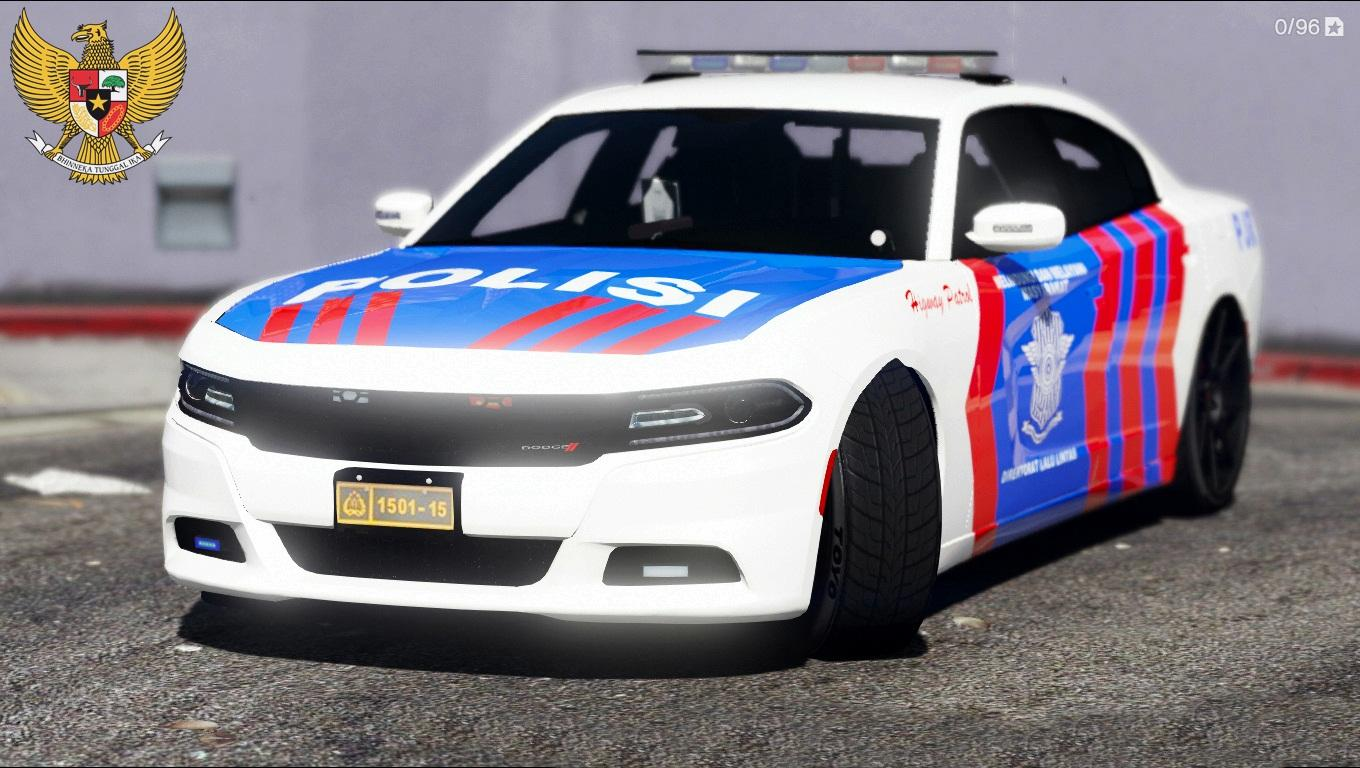Dodge Charger Police Car >> Dodge Charger Indonesian Police PJR - GTA5-Mods.com
