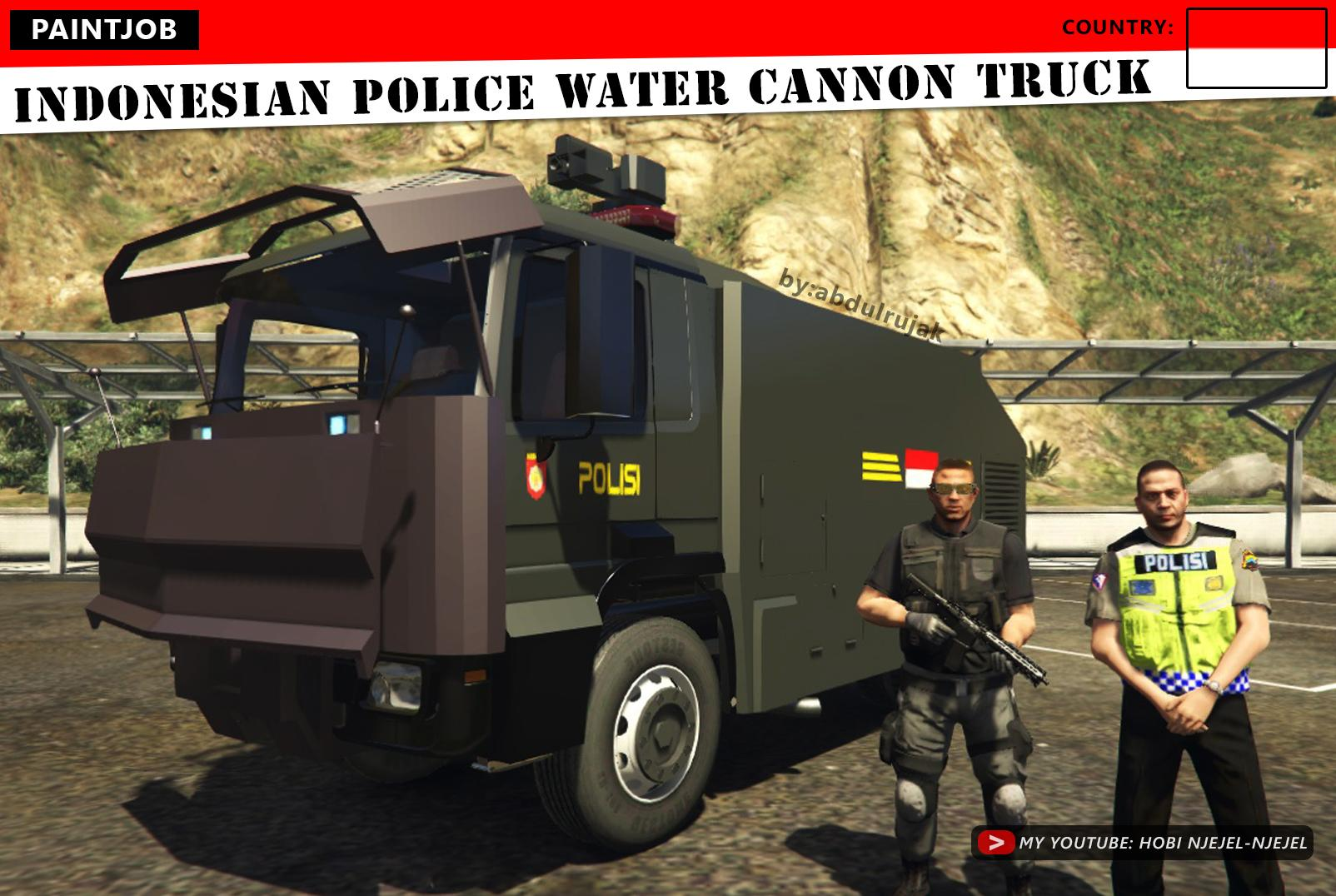 86+ Mod Bussid Mobil Polisi Water Cannon Gratis