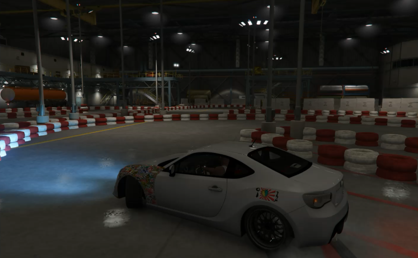 Indoor Drift Track - GTA5-Mods.com