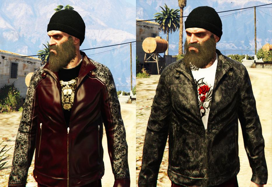 Infernal Jackets u0026 Pants for Trevor - GTA5-Mods.com