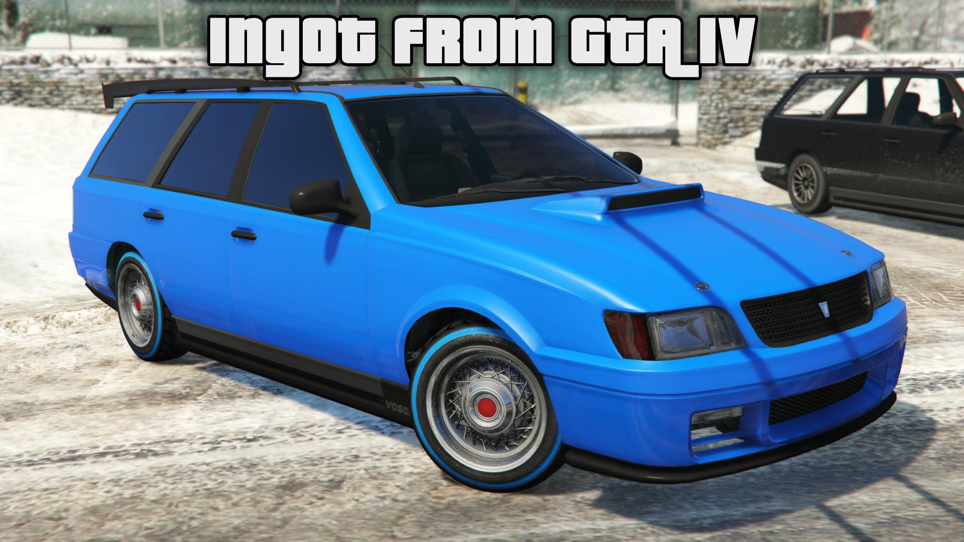 Ingot VD90R from GTA IV [Replace] - GTA5-Mods.com