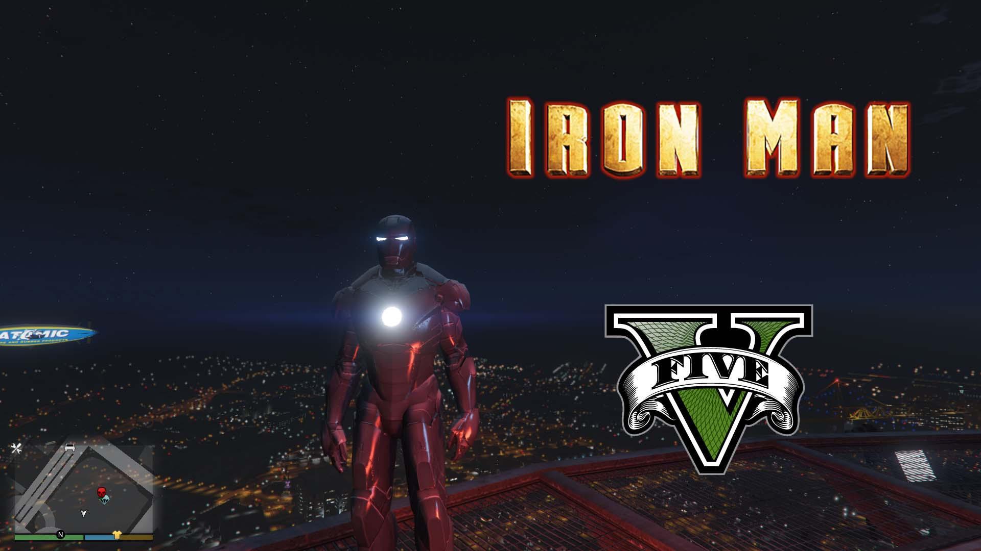 Iron Man 2: Iron Man Mark 2 [Add-On Ped]