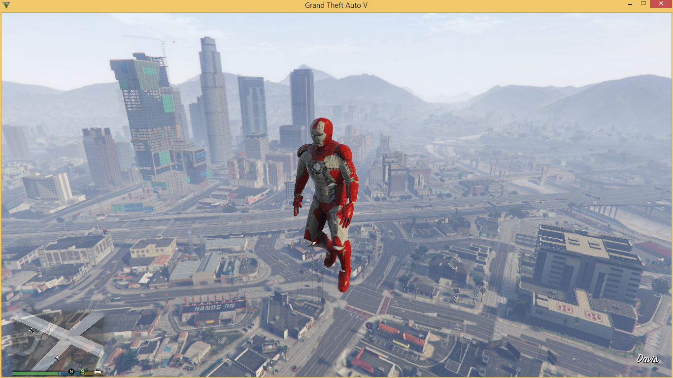 Iron Man Mark V - GTA5-Mods com