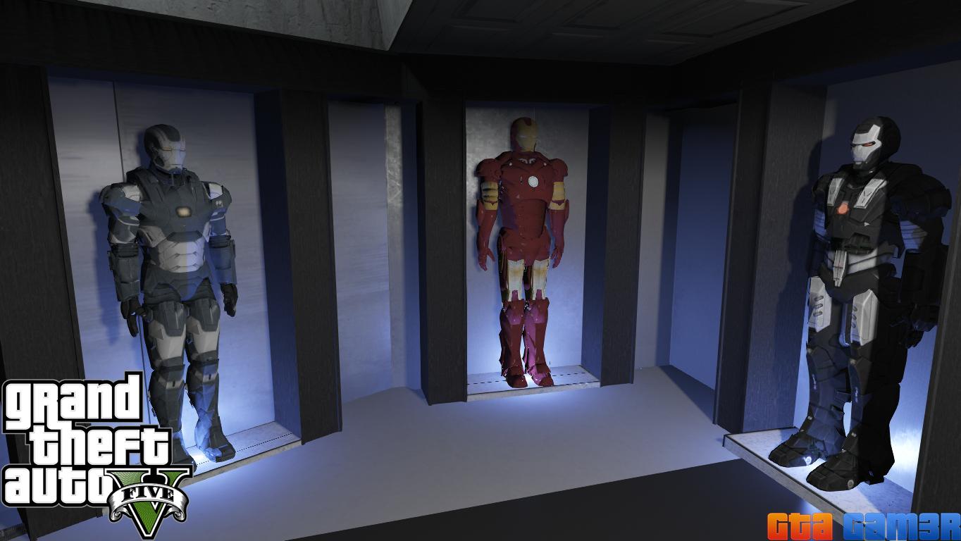 Iron Man/Tony Stark House - GTA5-Mods com