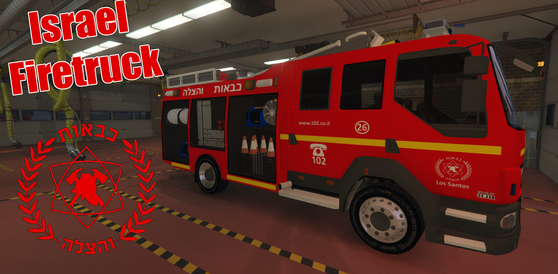 how to find a fire truck in gta 5