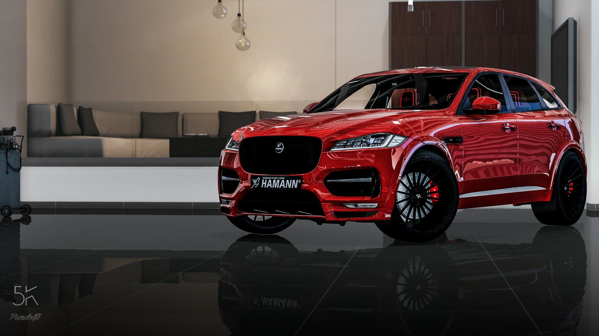 jaguar f pace 2017 hamann edition add on gta5. Black Bedroom Furniture Sets. Home Design Ideas