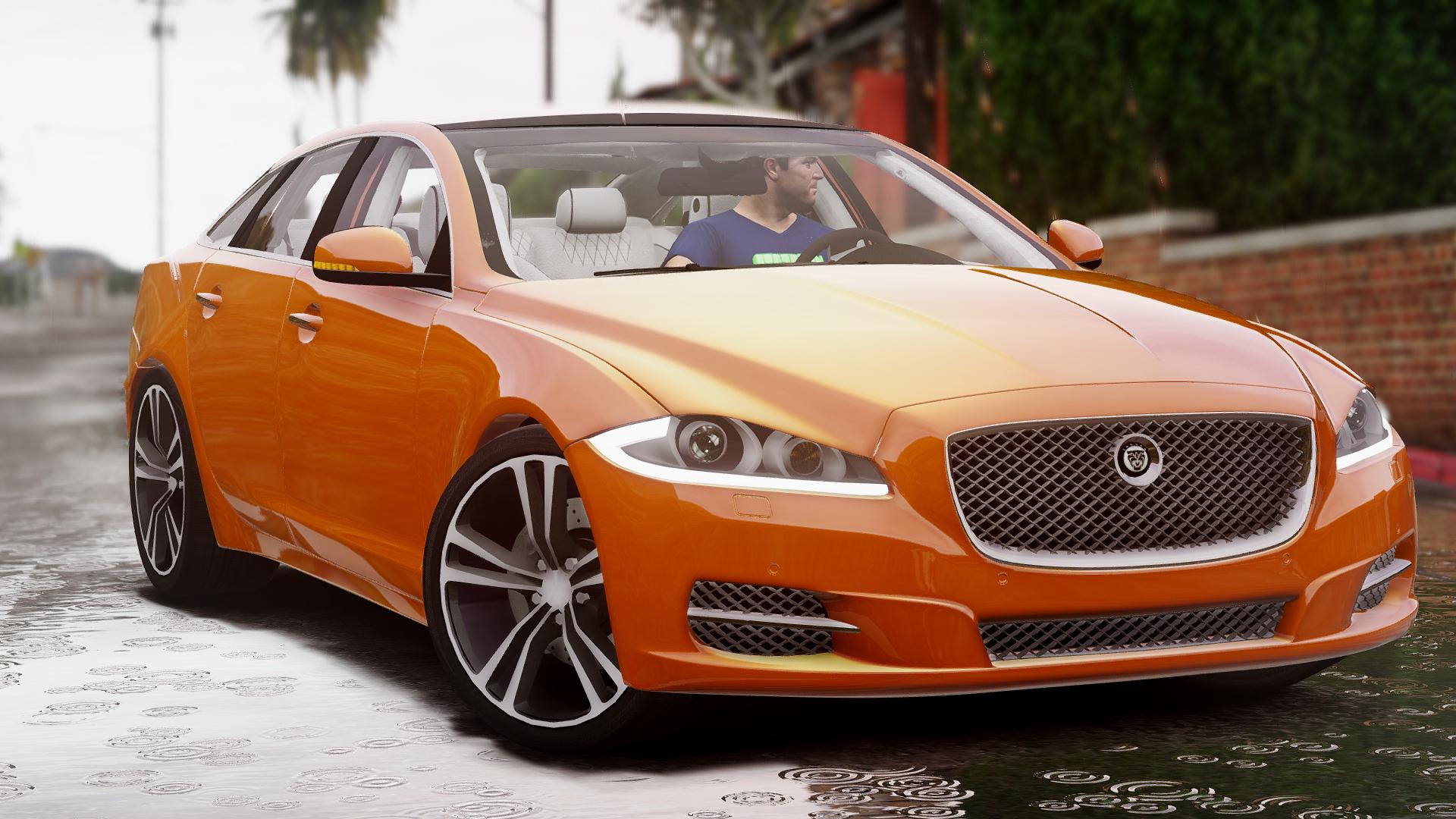 jaguar xj add on replace gta5. Black Bedroom Furniture Sets. Home Design Ideas