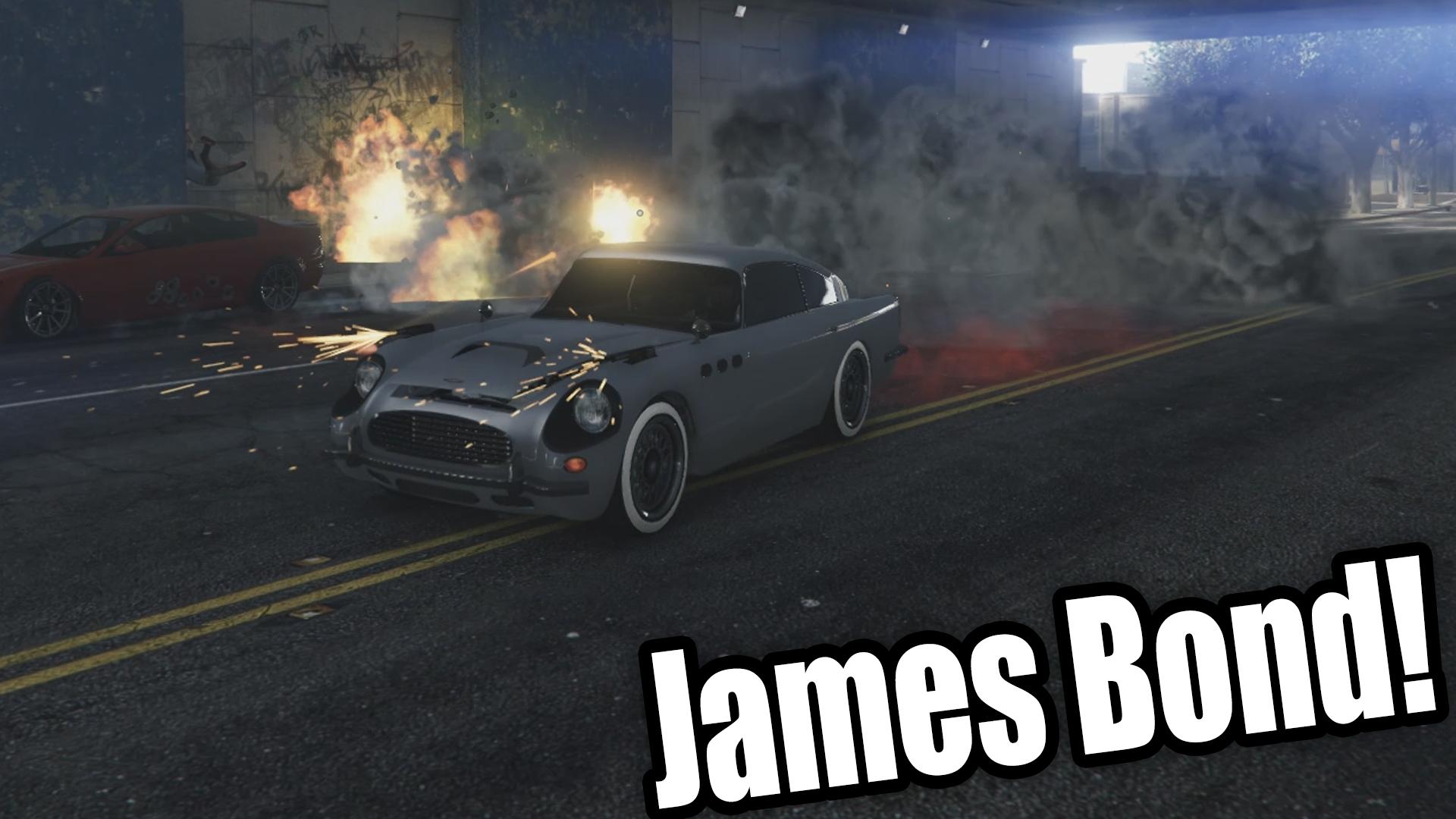 James Bond Mod Choose any Weapon GTA5 Mods
