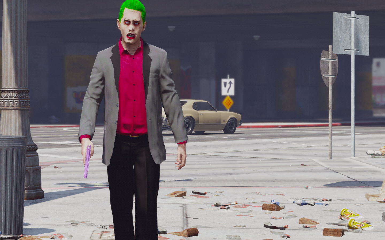 how to make the joker in gta 5