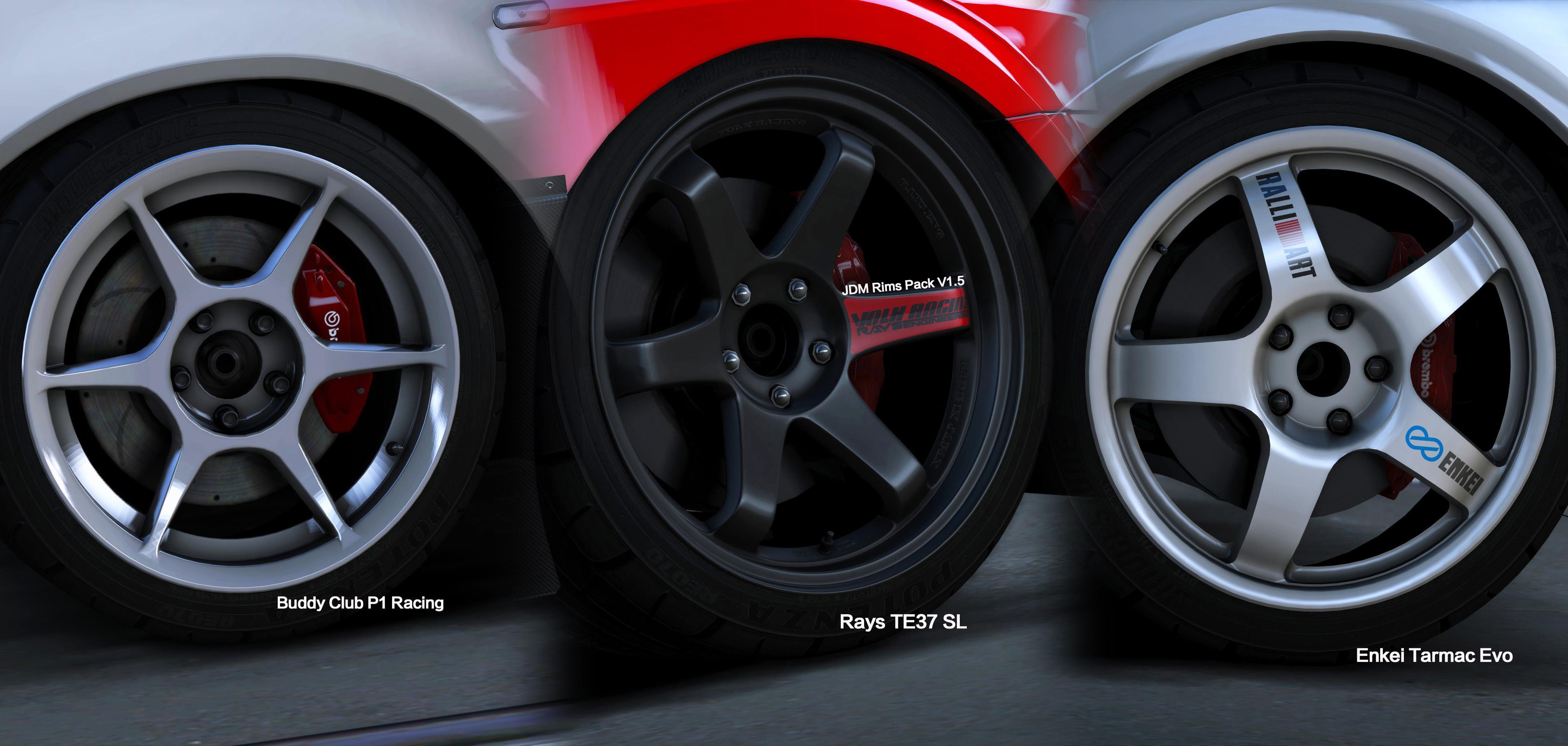 Rims Vs Wheels >> JDM Rims Pack [Add-On] - GTA5-Mods.com