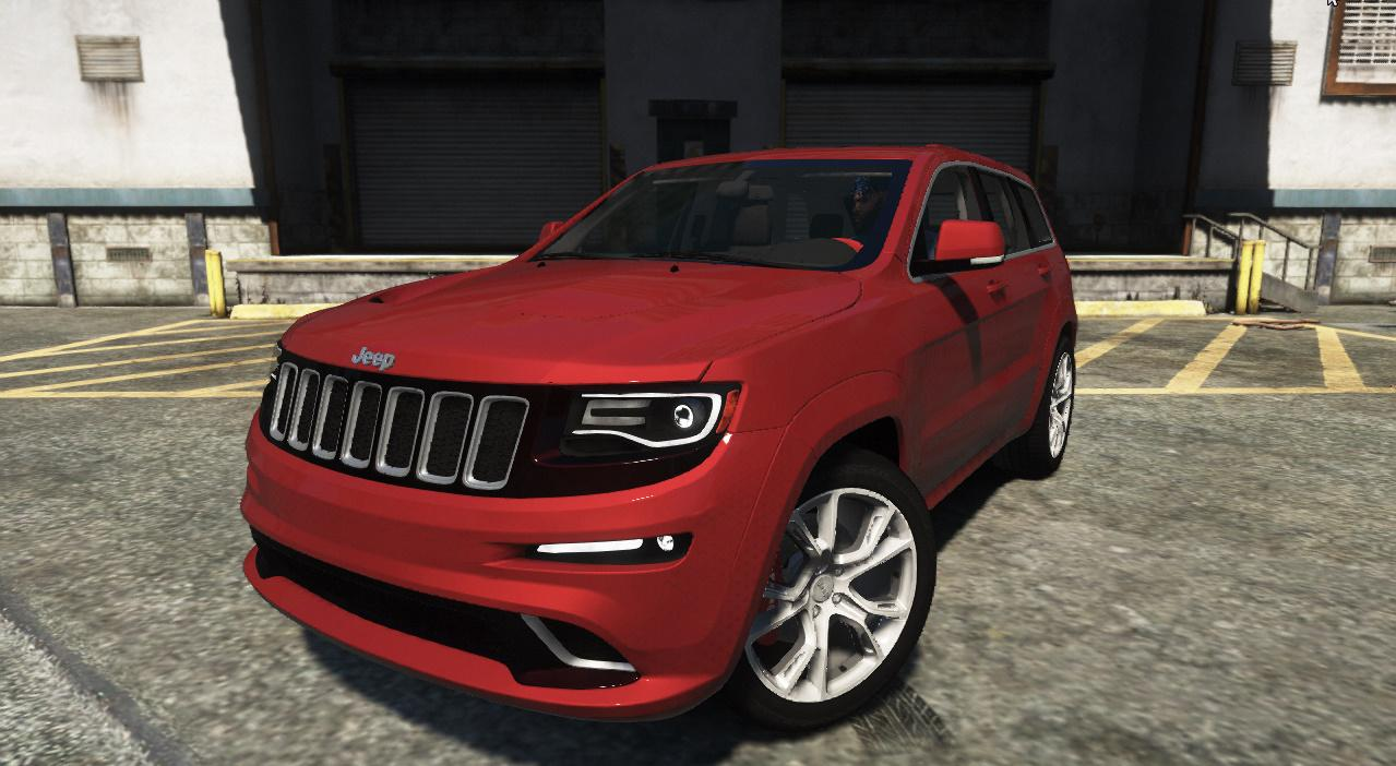 jeep grand cherokee srt 8 2015 replace add on h gta5. Black Bedroom Furniture Sets. Home Design Ideas