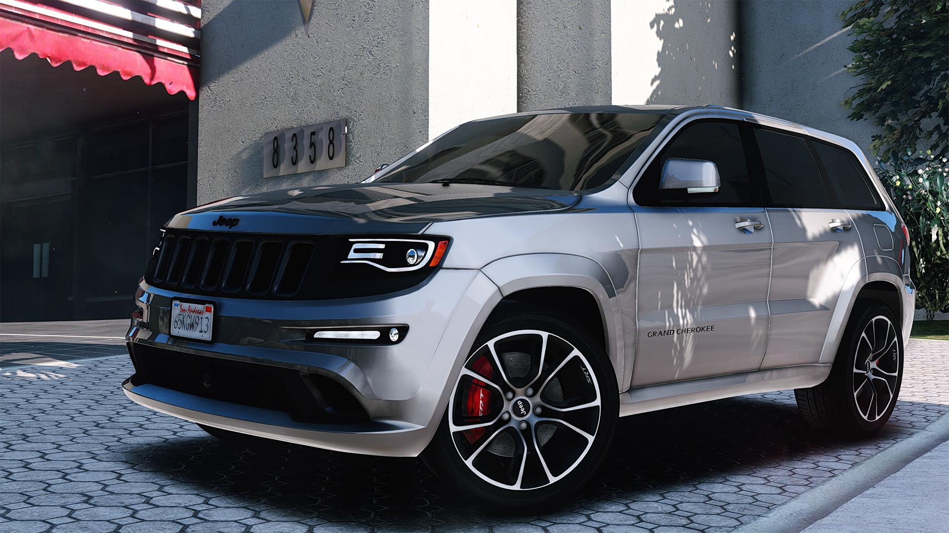 Black Jeep Cherokee Jeep SRT-8 2015 [Add-On] - GTA5-Mods.com