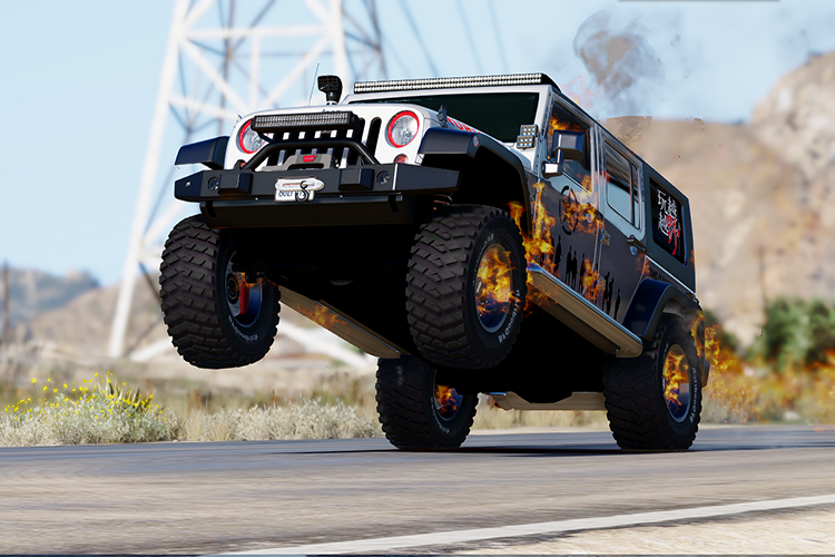 2014 Jeep Wrangler Rubicon [Add-On / Replace] - GTA5-Mods.com