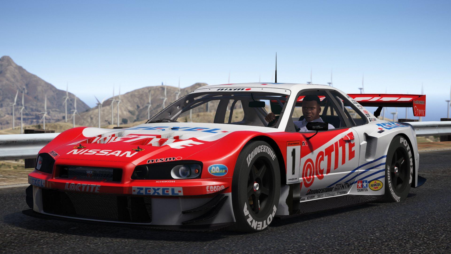 JGTC Nissan Skyline GT-R R34 [Add-On | Digital Dash ...