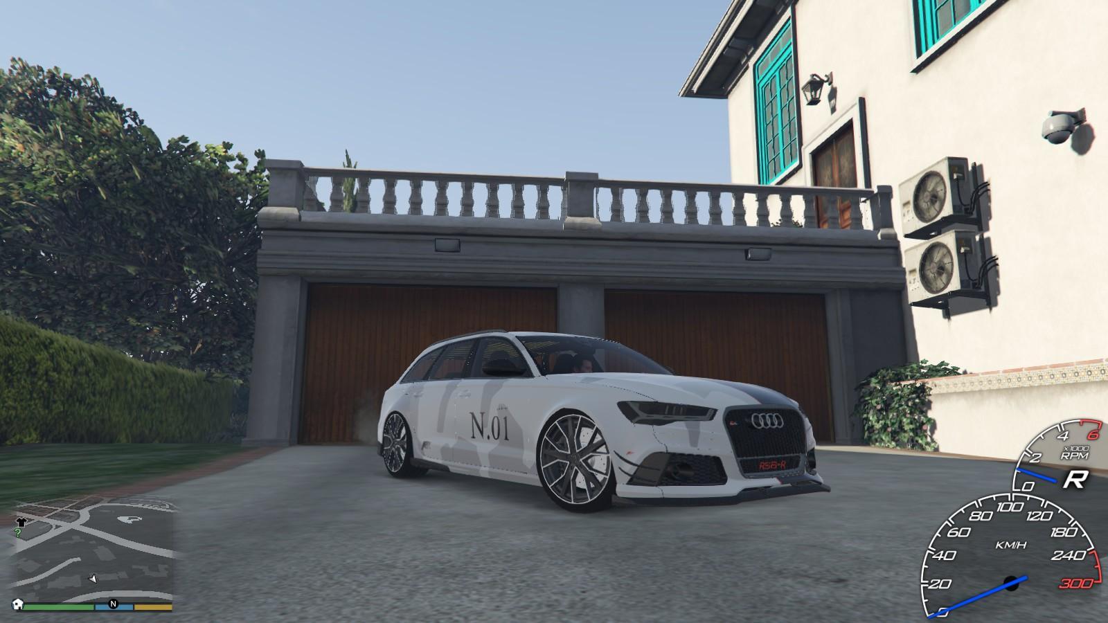 Jon Olsson S No 1 I Audi Rs6 Avant Abt Livery Gta5 Mods Com
