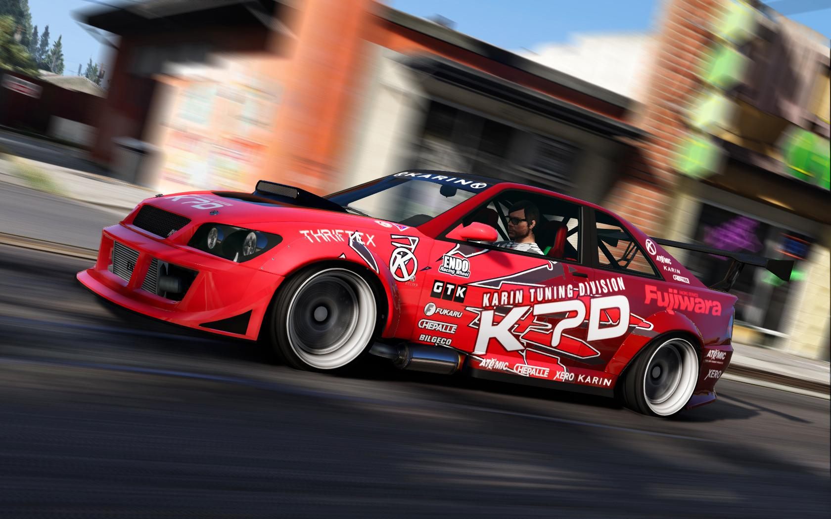 Karin Sultan RS KTD Drift-Spec - GTA5-Mods.com