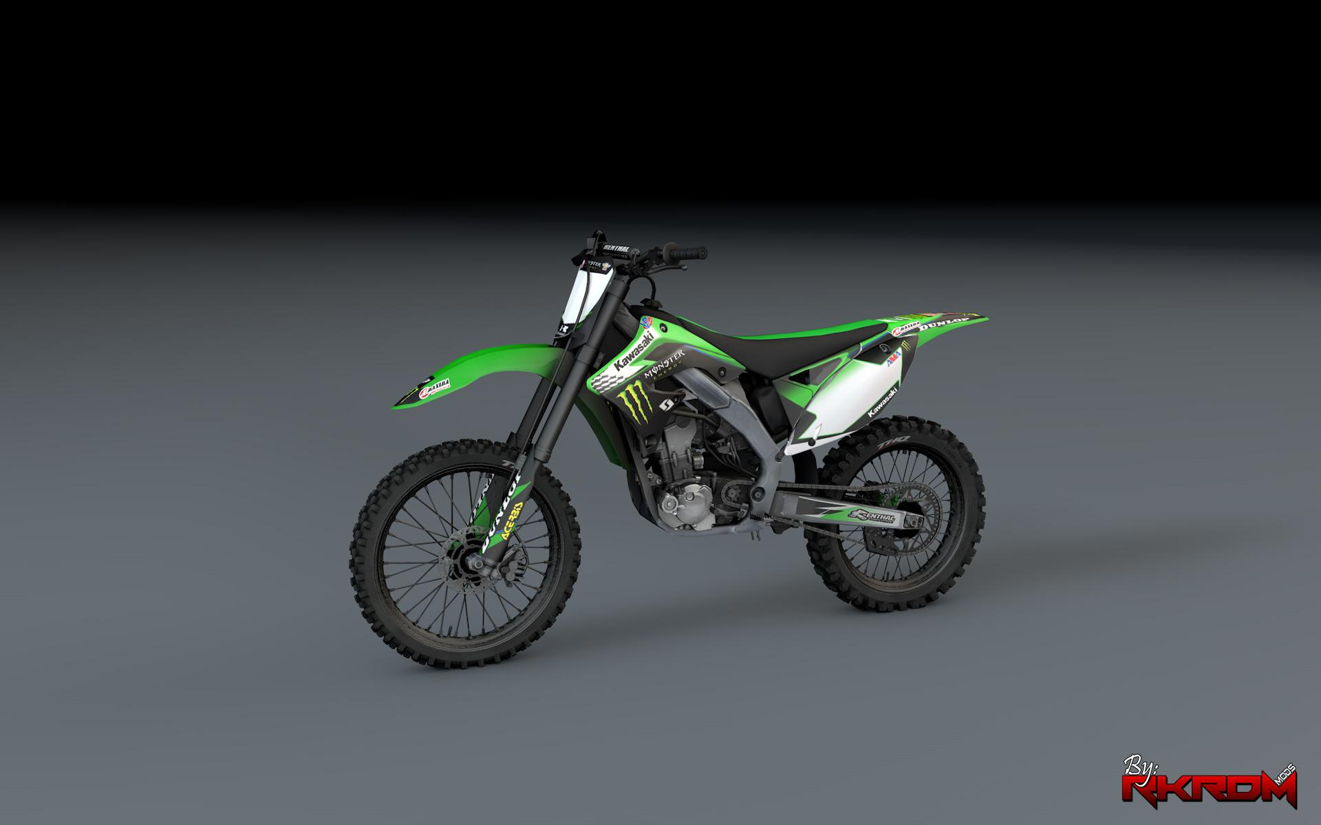 Kawasaki kx450f monster energy livery gta5 for Www moster