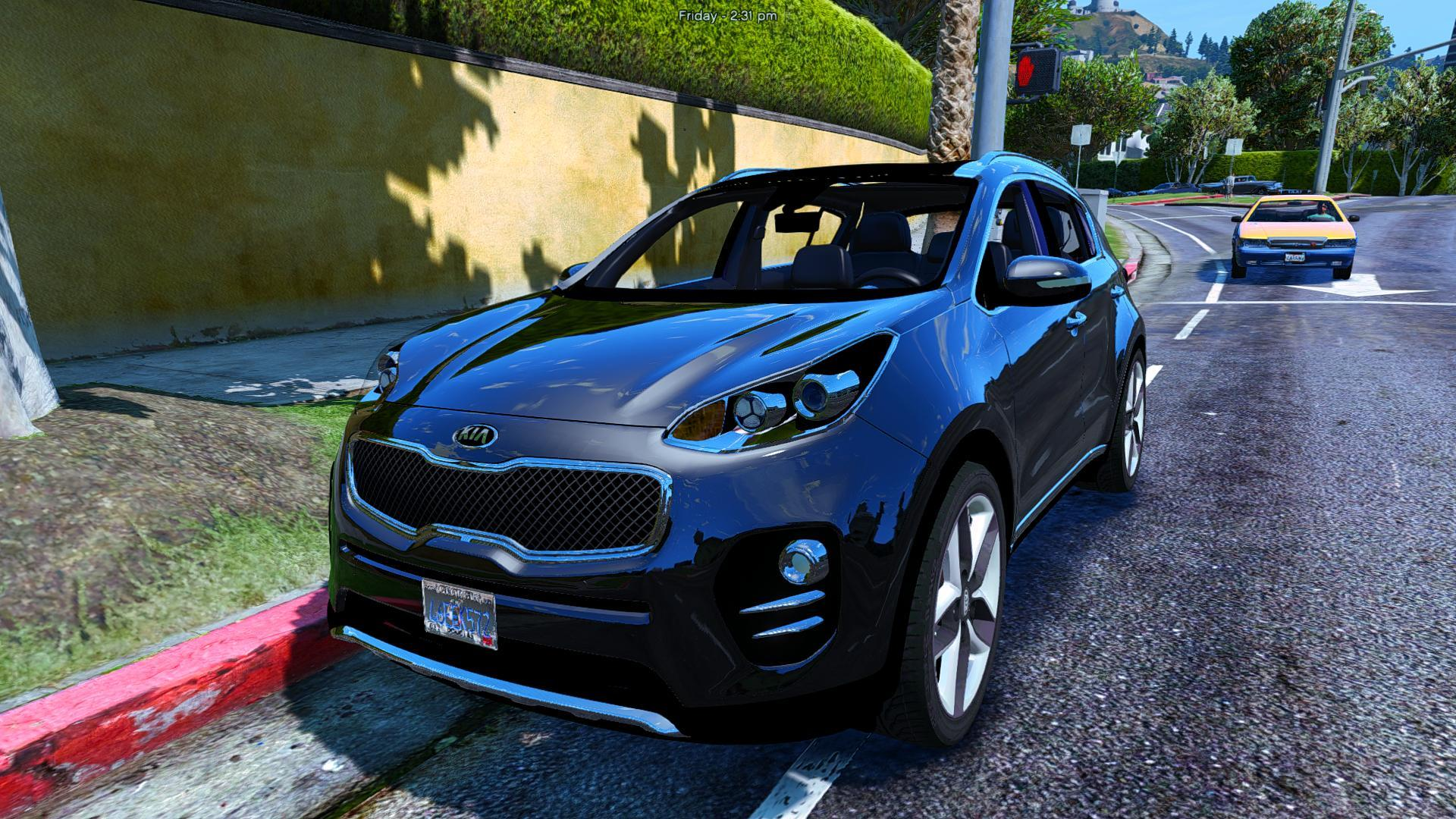 2017 kia sportage add on replace gta5. Black Bedroom Furniture Sets. Home Design Ideas