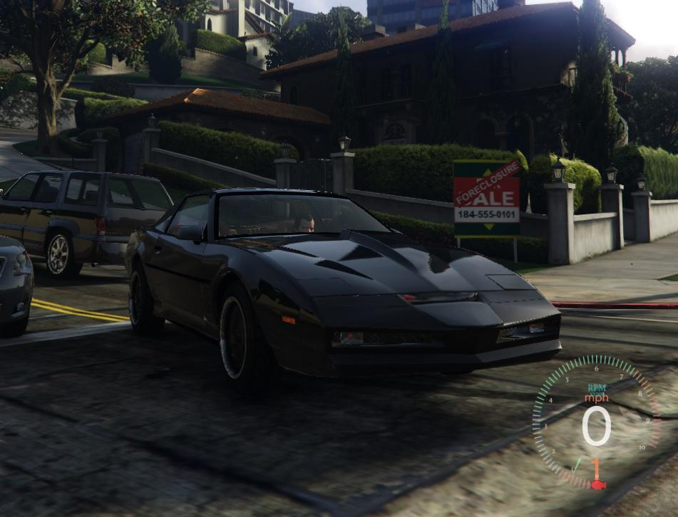 knight rider kitt gta5. Black Bedroom Furniture Sets. Home Design Ideas