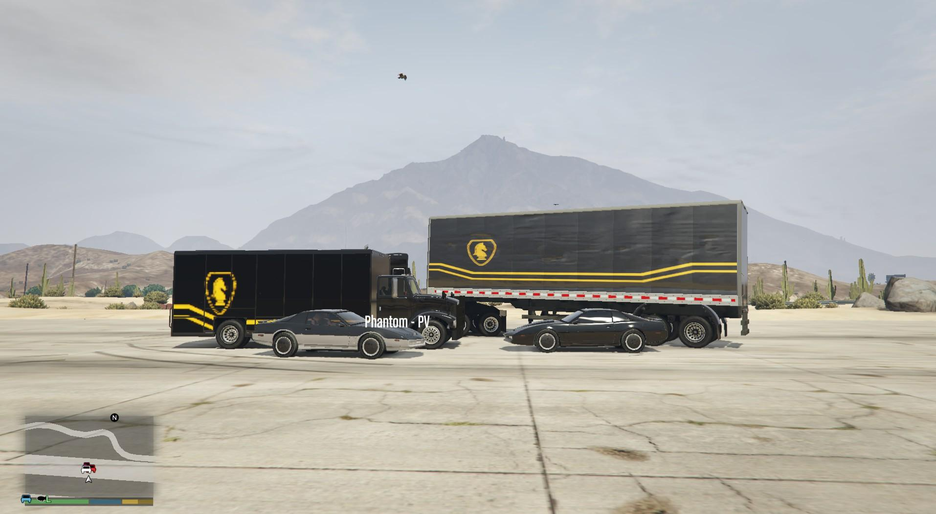 knight rider semi trailer gta5. Black Bedroom Furniture Sets. Home Design Ideas