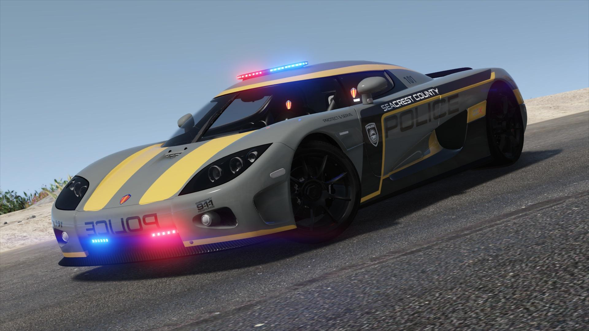 Hot Pursuit Police - Second Livery - GTA5