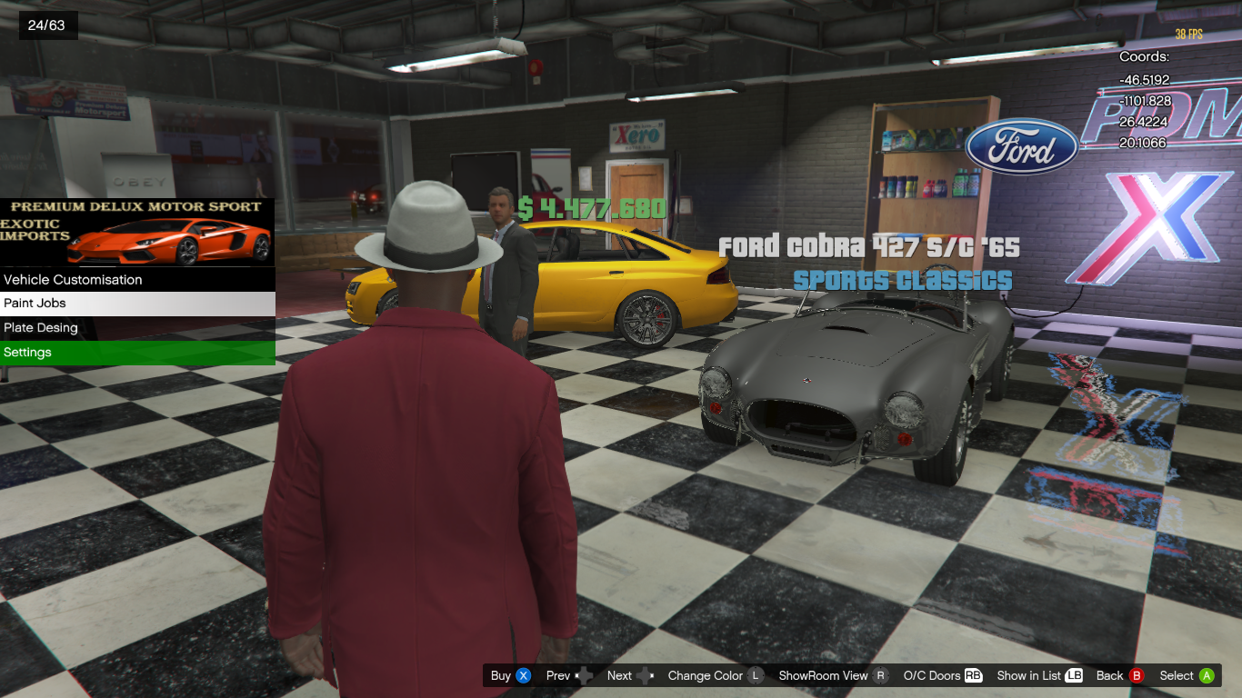 kr car dealership a k a pdm exotic imports gta5. Black Bedroom Furniture Sets. Home Design Ideas