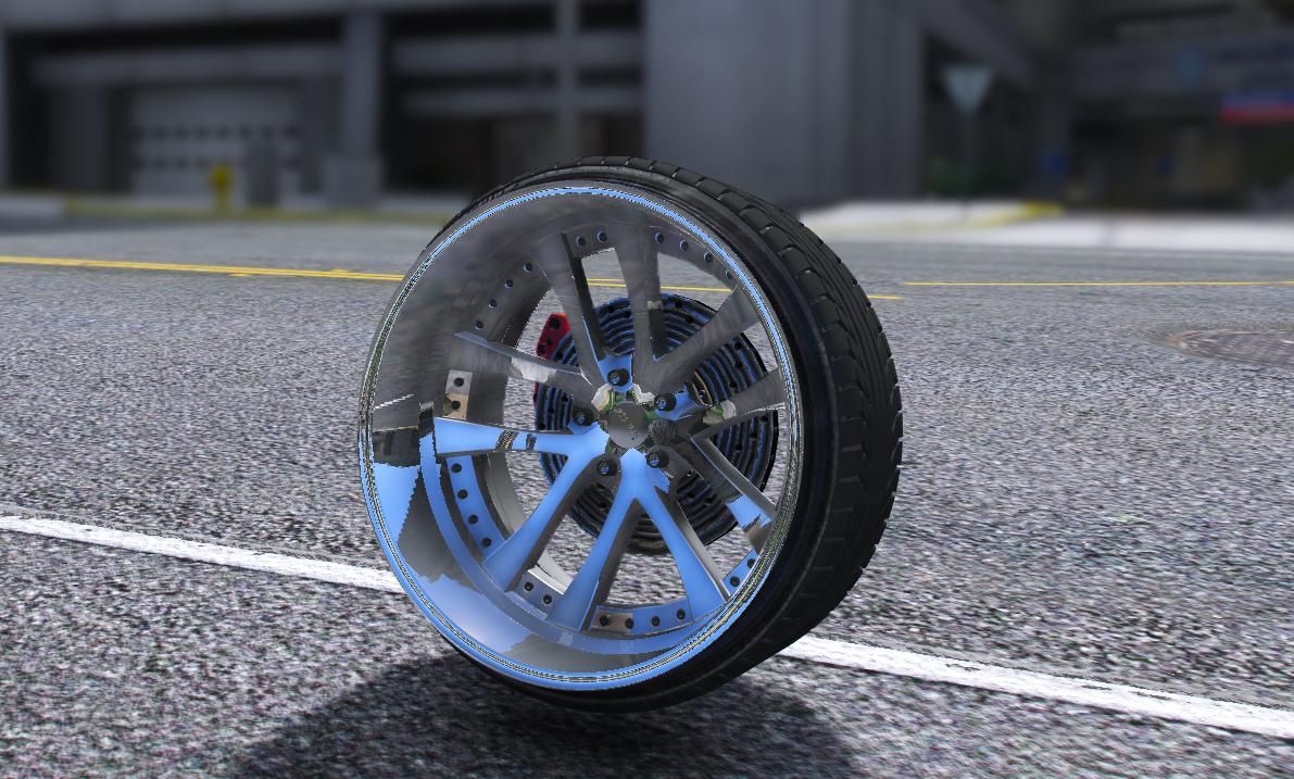 Kranze Lxz wheel - GTA5-Mods com