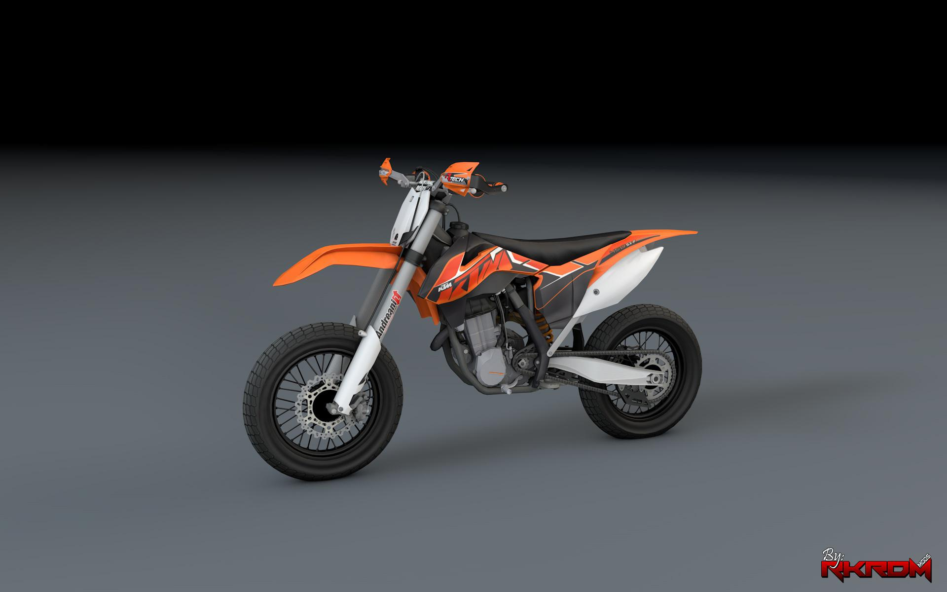 ktm 450 sx f supermoto with liveries gta5. Black Bedroom Furniture Sets. Home Design Ideas